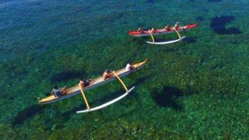 Pirogue Hawaïenne