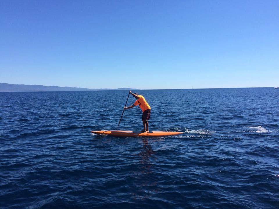 Stand Up Paddle_corse Matin_ la Parata_ compétition de paddle_Capo surf